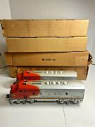 Lionel O 2- Santa Fe Diesel Locomotive's  2343p-10 And 2344 P Both With Box