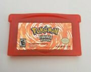 Pokemon Firered Version Game Boy Advance 2004 Authentic - Saves - See Video