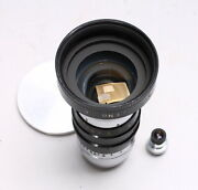 Kinotar 15mm F/1.5 Wide Angle C Mount Cine Lens W/ Bell And Howell Viewing Lens