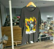 Robocop Mens Spring Ford Graphic T-shirt Black Classic Fit 1987 Vintage Tee Xl