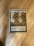Wwi Ww1 Original World War Poster - Are You Trained To Do Your Share Plattsburg