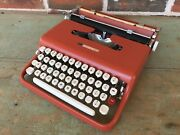 Red Hot Video Review Sears Courier Typewriter Olivetti Lettera 22 - Serviced
