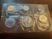 1960 Unites States Proof Silver Coin Set With Envelope