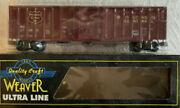 ✅weaver Wisconsin Central 50andrsquo Box Car O Scale 3-rail Freight Train