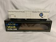 ✅weaver Bnsf Ice Cold Express 57' Mechanical Reefer Car W/ Lionel Type Couplers