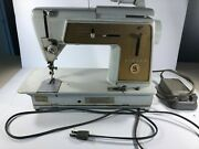 Vintage Singer Touch And Sew 603 Sewing Machine And Controller