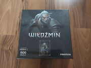 The Witcher Puzzle Jigsaw Geralt Collectorand039s Edition New Factory - Ultra Rare