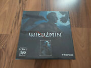 The Witcher Puzzle Jigsaw Regis Collectorand039s Edition New Factory - Ultra Rare