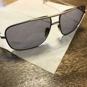 Chrome Hearts Stains Vii Gold X Black Frame Menand039s Eyewear Very Good W/ Case