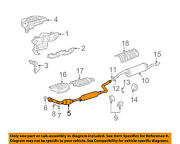Scion Toyota Oem 04-06 Xb 1.5l-l4 Exhaust System-front Pipe 1741021572