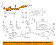 Toyota Oem 12-17 Camry 3.5l-v6 Exhaust System-front Pipe 174100p350