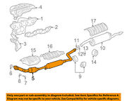 Toyota Oem 00-02 Echo 1.5l-l4 Exhaust System-front Pipe 1741021160
