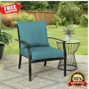 Deep Seat Chair Patio Cushions Set Pad Uv Resistant Porch Outdoor 45 X 22.7 In.