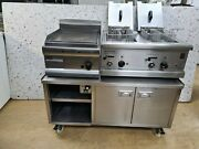 Free Stand Stainless Steel Hot Cupboard/electric Falcon Fryer/gas Lincat Griddle