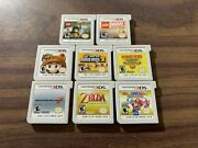 New Super Mario Bros 2+3d Land+ocarina Of Time+kart 7+party Star Rush ++ 3ds