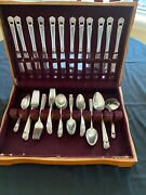 Vintage 1847 Roger Bros Is Silverplate Eternally Yours Service For 12 75