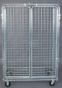 Gav 1ecg6 Wire Security Cart With Fixed Shelves 1,800 Lb Capacity, 24 In W X