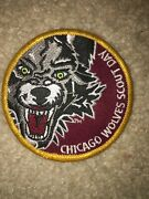 Boy Scout Bsa Type 1 Chicago Wolves Illinois Ice Hockey Council Sport Patch