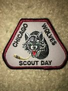 Boy Scout Bsa Type 6 Chicago Wolves Illinois Ice Hockey Council Sport Patch