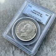 1952 No Wl Canada 1 Dollar Silver Coin One Dollar Proof Like Pcgs Pl 66