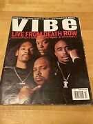 Vibe Magazine, February 1996, Death Row - Tupac, Dr. Dre, Snoop, Suge Knight
