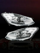 2pcs Xenon Hid Led Headlights Fit For Mercedes Benz W221 S550 S-class 07 08 09