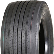 4 New Leao Atl811 445/50r22.5 Load L 20 Ply Trailer Commercial Tires
