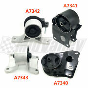 4pcs Engine Motor And Trans. Mounts For 02 03 04 05 06 Nissan Altima 2.5l For Auto