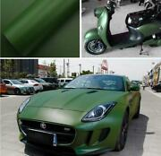 100ft X 5ft Metallic Flat Matte Vinyl Full Car Wrap Pvc Film Graphics Army Green