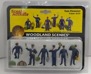 Woodland Scenics A2722 O Scale Train Personnel Figures 10 Packs Of 6