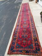 3and039x20 And039 Long Antique Lilihan Hall Way Runner Rug.