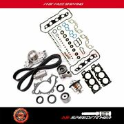 For 04-10 Toyota Carmy Highlander 3.3l Timing Belt Kit Water Pump Thermostat