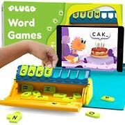 Word Building W/ Phonics Stories Puzzles Educational Toy Interactive Vocabulary
