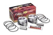 Kb Performance Kb909c.010 Forged Piston Kit 103ci. Big Bore Domed - .010in.