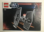 Lego Star Wars 9492 Tie Fighter Instruction Manual Only No Bricks Booklet