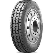 4 Tires Hankook Dh07 225/70r19.5 Load G 14 Ply Drive Commercial