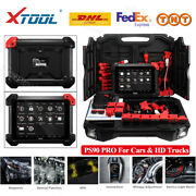 Xtool Ps90 Pro Car + Heavy Duty Truck All System Diagnostic Tool Abs Dpf Epb Eps