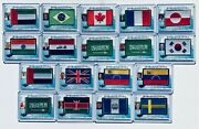 Decision 2020 World Leader Flag Political Trading Cards - Buy More And Save