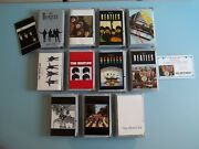 Beatles Complete Set Of 11 Limited Edition 25th Anniversary Silver Medallions