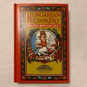 Vintage Hungarian Cookery Recipes New And Old By Edward Weiss Cookbook