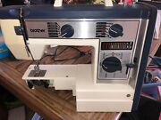 Vintage Brother Sewing Machine Vx760 With Pedal Powers On Fully Tested
