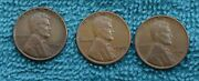 3-1949 Lincoln Cents - All 3 Mints - See My Other Listings To Save Shipping