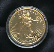 Copy 1933 Liberty Standing Walking Gold Tone 20 Dollar Coin United States Twenty