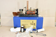 Maxwell Hemmens Live Steam The Caton Twin 3/8 Marine Engine And Boiler Nv
