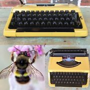 Bumblebee Brother Charger 11 Typewriter - Video Review - Cleaned And Serviced