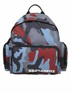 D Squared2 Menand039s Bags Bucket Bag Andamp Backpack Camouflage Nib Authentic