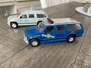 Rhode Island State Police And Nevada Highway Patrol Diecast 1/43 Road Champs
