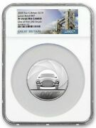 2020 Great Britain Silver 10 Pounds - James Bond 007 5 Oz Pf70 Uc Ngc Coin Rare