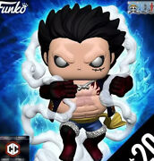 Pre-order Funko Pop Chalice Collectibles Exclusive One Piece Luffy 4th Gear