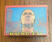 1973 Topps Kung Fu Tv Show Trading Cards Complete Set 1-60 W/unopened Pack Nm